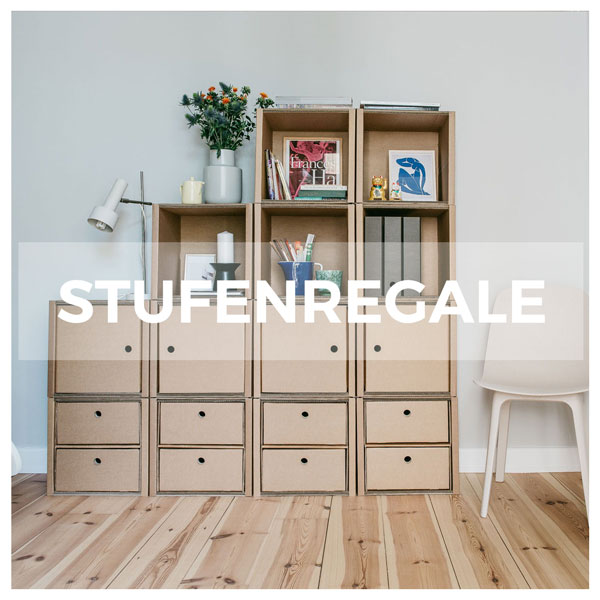 ROOM IN A BOX - Modulares Stufenregal